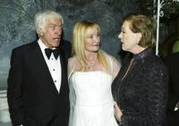Dick Van Dyke, Karen Dotrice and Julie Andrews at the Disney's