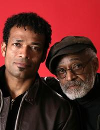 Melvin Van Peebles and Mario Van Peebles at the 2004 Sundance Film Festival.