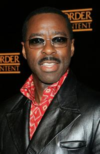 Courtney B. Vance at the party to celebrate the 100th episode of