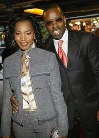 Courtney B. Vance and Angela Bassett at the Alvin Ailey Dance Foundation gala benefit.