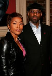 Courtney B. Vance and Angela Bassett at the opening night of the Broadway play
