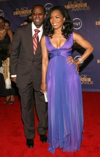 Courtney B. Vance and Angela Bassett at the Film Life's 2006 Black Movie Awards.