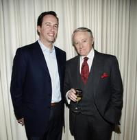 Robert Vaughn and Charles Collier at the celebration of Golden Globe Nomination For