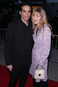 Yul Vazquez and wife at the premiere of