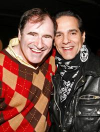 Richard Kind and Yul Vazquez at the LAByrinth Theater Company's 5th annual Celebrity Charades.