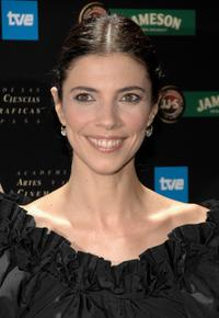 Maribel Verdu at the 22th Goya Awards Nomination Gala.