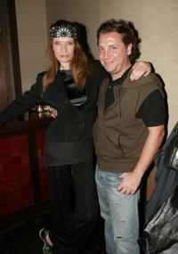 Veruschka and Atil Kutoglu at the special screening of