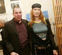 Ron Keyson and Veruschka at the