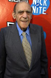 Abe Vigoda at the TV Land and Nick at Nite Upfront in