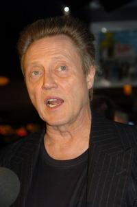 Christopher Walken at the Las Vegas screening of