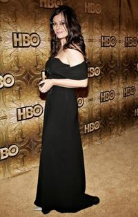 Polly Walker at the HBO Golden Globe after party.
