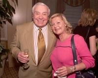 Ernest Borgnine and Carol Lynley at a reception hosted by BAFTA/LA honoring producer/director Ronald Neame on his 90th birthday.