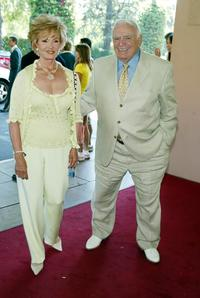 Ernest Borgnine and wife Tova at the annual Hollywood Foreign Press Association installation luncheon.
