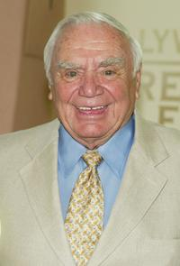 Ernest Borgnine at the annual Hollywood Foreign Press Association installation luncheon.