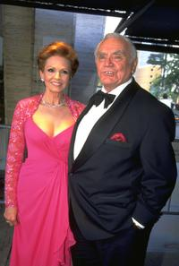 Undated photo of actor Ernest Borgnine and his wife.