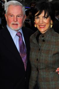 Sir Derek Jacobi and Harriet Walter at the UK premiere of