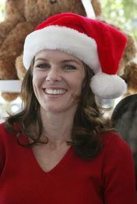 Susan Walters at the day long Toy Drive to benefit