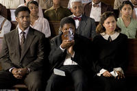 Denzel Washington, Denzel Whitaker and Jurnee Smollett in