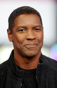 Denzel Washington at the MTV's Total Request Live.