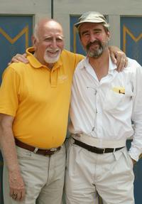 Sam Waterston and Dominic Chianese at the Central Park production of