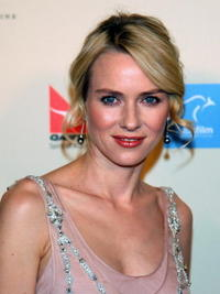 Naomi Watts at the G'Day USA Penfolds Black Tie Icon Gala.