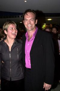 Hugo and Katrina Weaving at the premiere of the