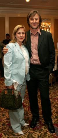 Patricia Arquette and Jake Weber at the AFI Associates luncheon honoring Hollywood's Arquette family with 6th Annual