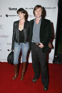 Jake Weber and guest at the L.A. premiere of