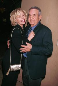 Tom Bosley and his wife Patricia Carr at Merv Griffin's Coconut Club.