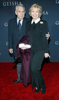 Tom Bosley and his wife Patricia Carr at the Hollywood premiere of