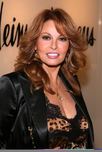 Raquel Welch at a fashion show of the Spring Summer 2007.