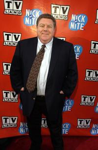 George Wendt at the TV Land and Nick at Nite Upfront.