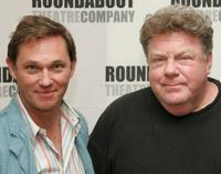 Richard Thomas and George Wendt at the rehearsal of Broadway play