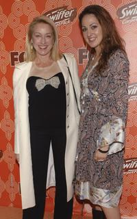 Patricia Wettig and Roxie at the FOX Fall Casino Party.