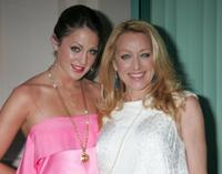 Roxy Olin and Patricia Wettig at the conversation with