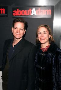 Frank Whaley and Heather Bucha at the special screening of