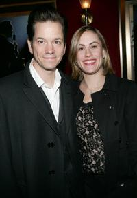 Frank Whaley and wife Heather at the premiere of