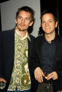 Ethan Hawke and Frank Whaley at the after party of the special screening of