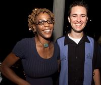 Debra Wilson and Wil Wheaton at the premiere of