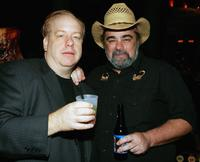 Director John Gulager and Duane Whitaker at the after party of the premiere of