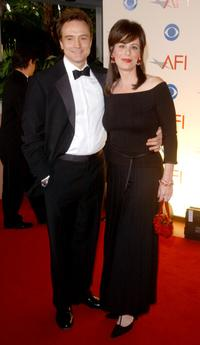 Bradley Whitford and Jane Kaczmarek at the American Film Institutes AFI Awards 2001.
