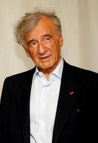 Elie Wiesel at the Teatro Dal Verme.