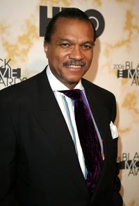 Billy Dee Williams at the Black Movie Awards HBO after party.