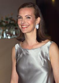 Carole Bouquet at the annual charity Rose Ball.