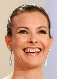Carole Bouquet at the 60th International Cannes Film Festival.