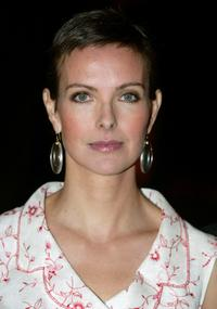 Carole Bouquet at the Marrakesh International Film Festival premiere of