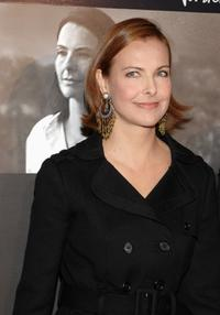 Carole Bouquet at the Madrid premiere of