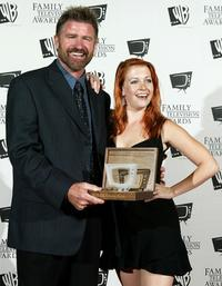 Treat Williams and Melissa Joan Hart at the 5th Annual Family Television Awards.