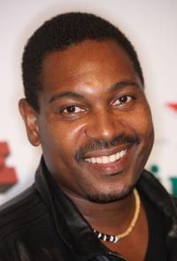 Mykelti Williamson at the premiere of