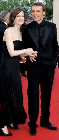 Lambert Wilson and Valerie Lemercier at the closing ceremony and premiere of